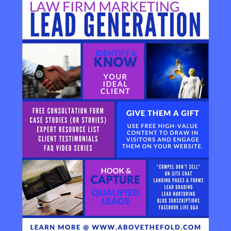 law firm marketing how to use inbound for lead generation